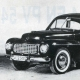 La Volvo 444 (1946-1956) une des premières européenne d'après-guerre