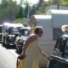 """""""Le bouchon de La Palisse"""", superbe embouteillage de véhicules anciens"""