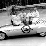 1972: L'Opel GT prouve qu'un diesel peut avoir de l'ambition!