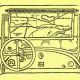 Het eenvoudige gebruik van een landkaart in de auto, versie uit 1932