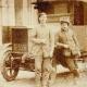 Comment transporter de la vaisselle en 1909