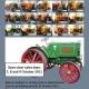 Vente d'une collection de tracteurs Fiat et Someca