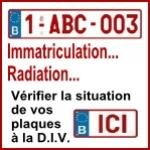 Votre plaque belge et l'administration