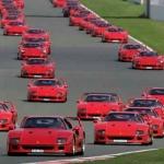 60 Ferrari F40 réunies à Silverstone
