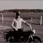 Ma première moto, j'en étais fou, j'en étais fier…