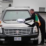 Nos services secrets vous parlent de la voiture de Barack Obama
