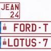 Les plaques belges personnalisées : une belle idée plutôt coûteuse…