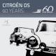 Jusqu'au 15 juillet 2015 à Autoworld: La Citroën DS a 60 Ans!