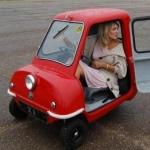 La Peel P50 , plus petite voiture du monde…