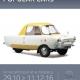 Des Micro, Bubble & Popular cars exposées à Autoworld