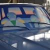 """Michel Folon a aussi réalisé une """"Art-Car"""""""