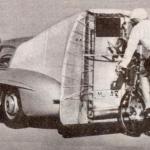 Une 300SL pour un record… cycliste!