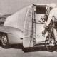 Une 300SL pour un record... cycliste!