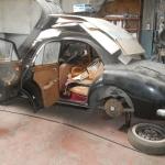 Histoire d'une sortie de grange: Mon MG Magnette ZB de 1958