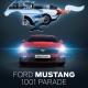 Tentative de record du monde en Belgique : Rassembler 1.001 Ford Mustang