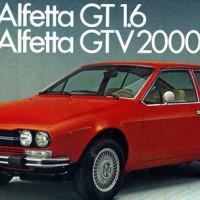 Pour Alfa Roméo GTV 1600/2000: important lot de pi