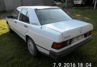MERCEDES 190 D - 1986 - 226.000 km - 2.500 €